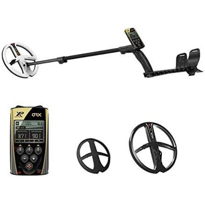 XP ORX METAL DETECTOR WITH REMOTE AND  9 HF COIL AND WSA HEADPHONES