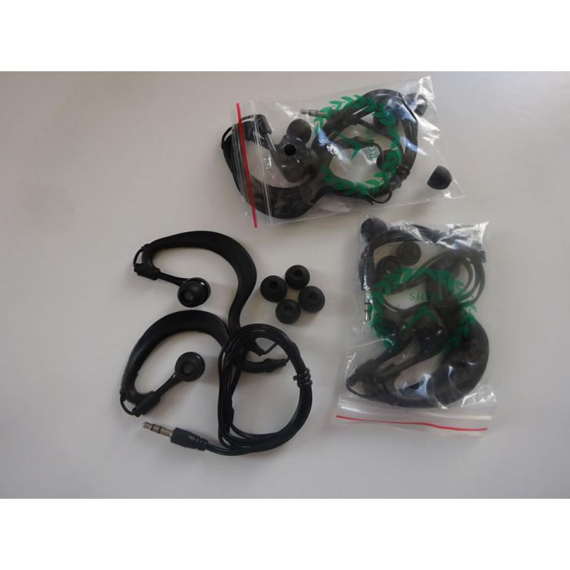 Waterproof earbuds to fit Equinox WM08 and CTX WM10