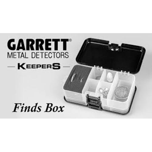 Garrett Keepers Finds Box - Detecnicks Ltd