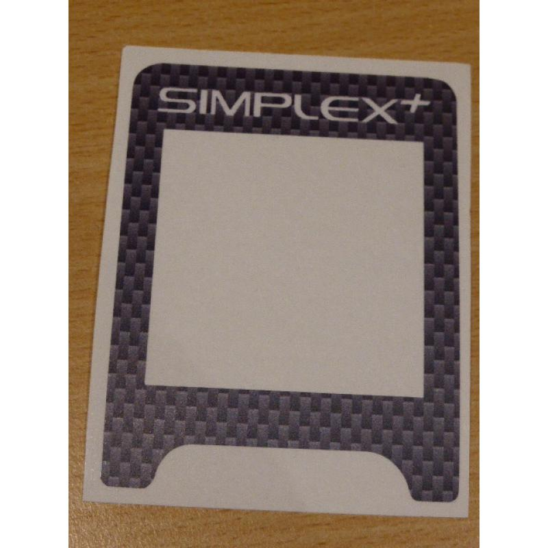 A SIMPLEX VINYL CONTROL BOX COVER IN GREY CARBON