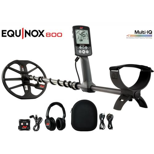 Minelab Equinox 800 Inc Control Box Cover - DETECNICKS LTD