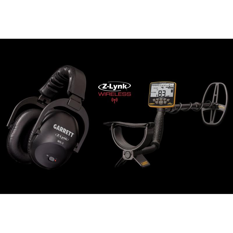 Garrett Ace Apex Metal Detector Inc Z-Lynk Wireless Headphones - DETECNICKS LTD