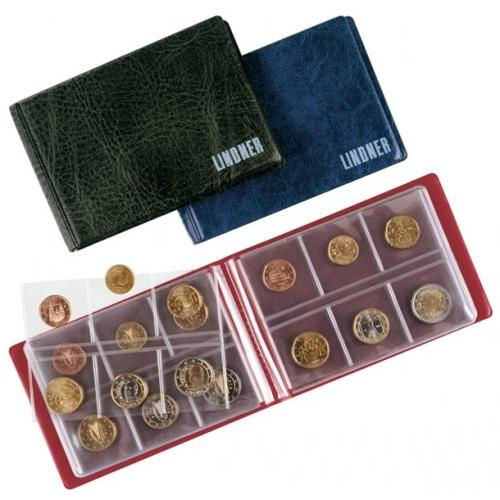 Lindner Pocket Coin Album + 8 Insert Pages