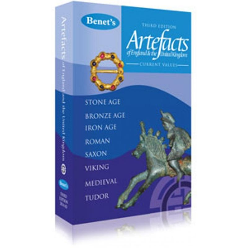 Benet's Artefacts 3rd Edition Book - Detecnicks Ltd (FREE POSTAGE)