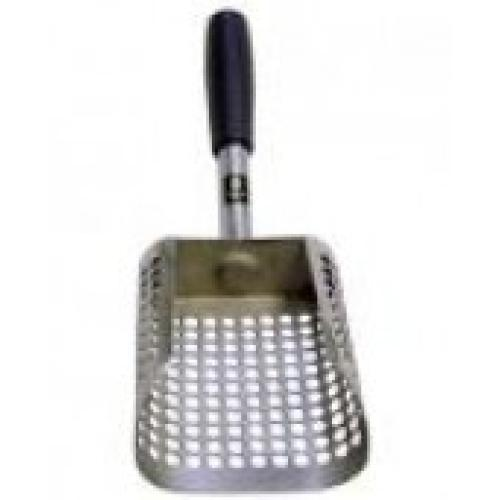 Black Ada Stainless Steel Sand Scoop
