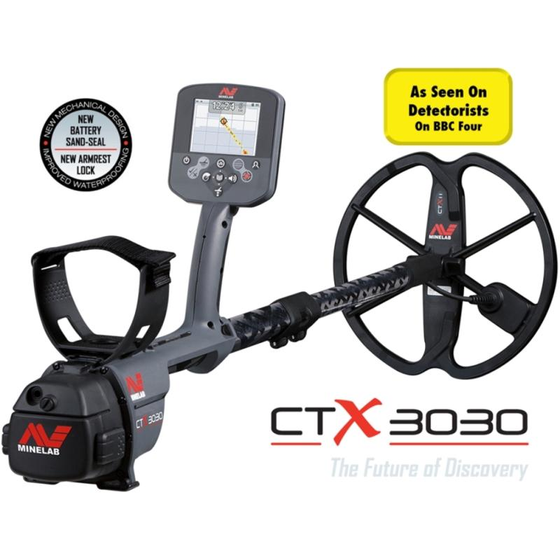 Minelab CTX 3030 Metal Detector - DETECNICKS LTD